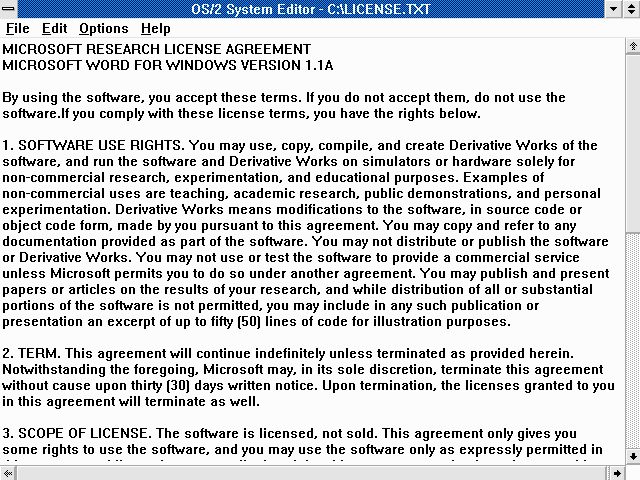 Microsoft Research License